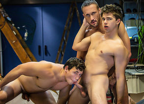 Myles Landon & Tobias & Will Braun in..