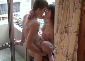 Nice nubile duo window bang-out