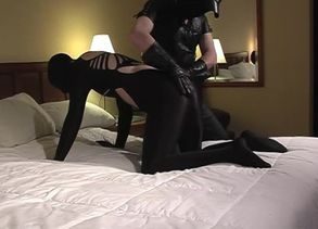 Latex Slapping And Gargling - Sequence 3