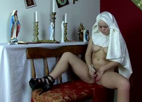 Madison Chandler Satanic Young Nun -..