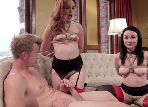 Veruca James & Amarna Miller & Bill..