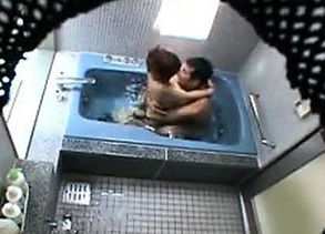 Hidden camera catches a duo nude in..