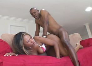 Phat  Hotty Gets Ravaged By A Ebony..