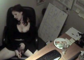 ultra-kinky receptionist in excellent..