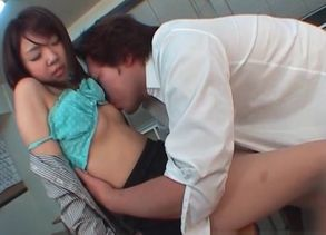 Jap  in college uniform having hook-up..