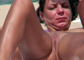 Bare Beach Cougars Hidden cam HD Movie..