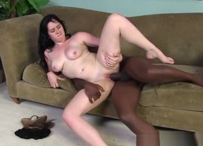 Lacey Lay Takes Big black cock in Her..