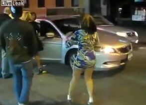 Street altercation with the curvy..