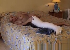 Magnificent adult gig Woman Stroking..