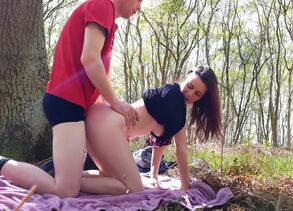 public penetrate in the forest