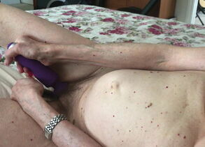 Horney wifey climax with njoy and..