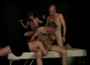 Astounding intercourse  queer 3 way..