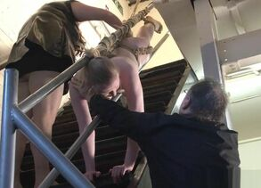 Blondie restrain bondage honey Satine..