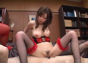 Crazy office cougars pulverize and..