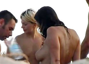 2 couples public beach intercourse